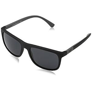 Emporio Armani EA4079 504287 Matte Black EA4079 Square Sunglasses Lens Category