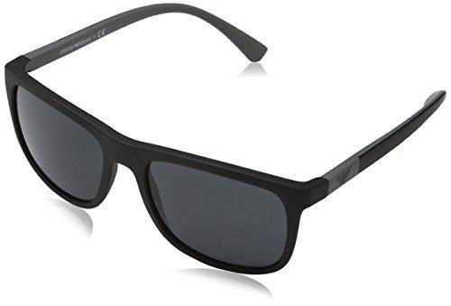 Emporio Armani EA4079 504287 Matte Black EA4079 Wayfarer Sunglasses Lens Catego