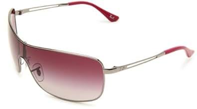 Ray-Ban RB3466 Composite Sunglasses 135 mm, Non-Polarized, Gunmetal/Purple Gradient