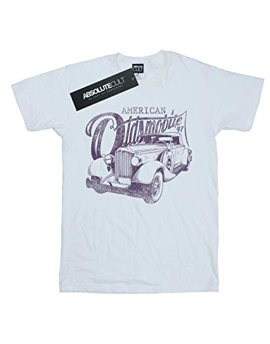 Mujer Small Vintage Fit Blanco Del Camiseta Drewbacca Oldsmobile Novio 4fzqzx7w