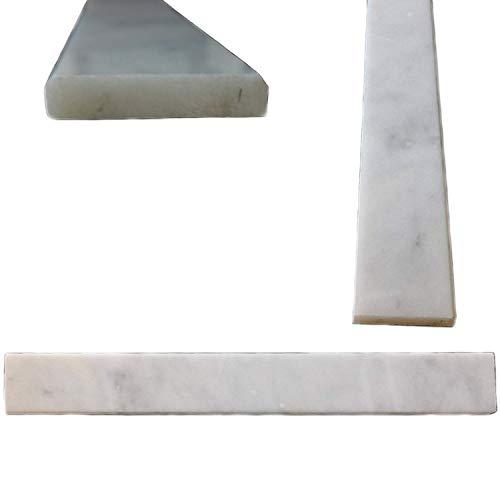 Buy white carrara marble threshold