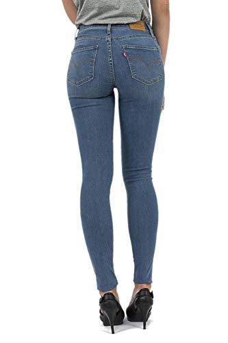 Rise Bleu Levis Jeans 721 Skinny High tq4wXwBz