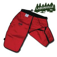 Labonville Chainsaw Safety Chaps - Green Regular
