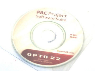 NEW OPTO 22 PAC PROJECT 8932 SOFTWARE SUITE R8.0005