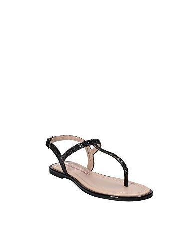Fornarina PE17GR1105M0 Sandale Femme Noir ZqccuLV