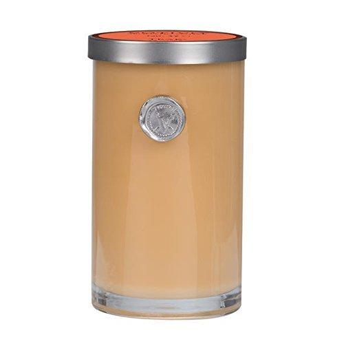 Votivo Aromatic Votive Teak, Glass with Lid, 20-25 Hours, 2.4 oz, 2