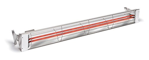 Infratech 21-2300 61-1/4-Inch 240V Dual Element Infrared Heater With Dual Heating Element ()
