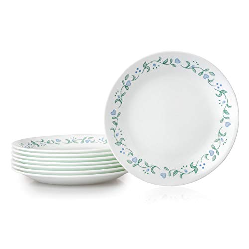 Corelle 1136758 Bread Plates, 8-Piece, Country ()