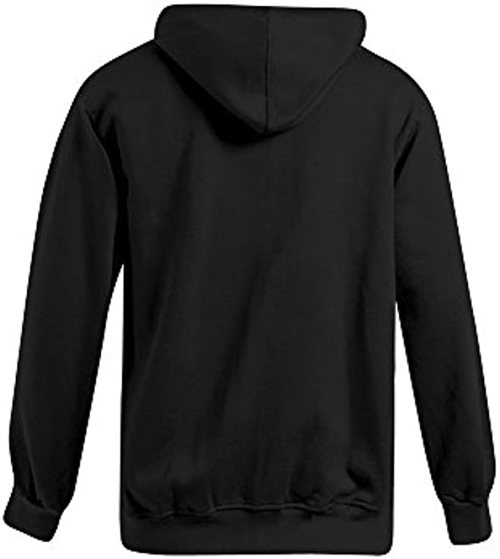 Promodoro bawełniana bluza z kapturem z zamkiem błyskawicznym dla mężczyzn: Odzież