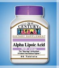 21ST CENTURY ALPHA LIPOIC ACID 50mg 90 TABS