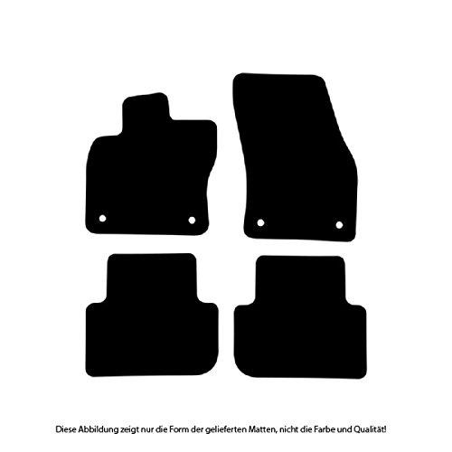 Passgenau f/ür Modell Siehe Details Erh/öhter Rand Set 4-teilig B/är-AfC SE61154 Gummimatten Auto Fu/ßmatten Schwarz