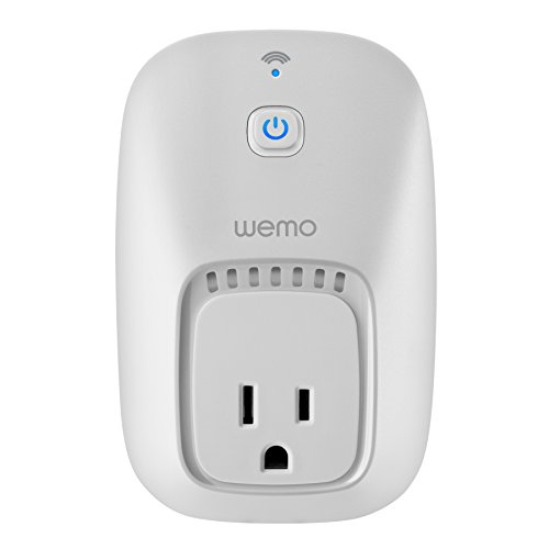 WeMo Switch, Wi-Fi Enabled, Control Lights & Appliances From Your Phone, Works with Alexa