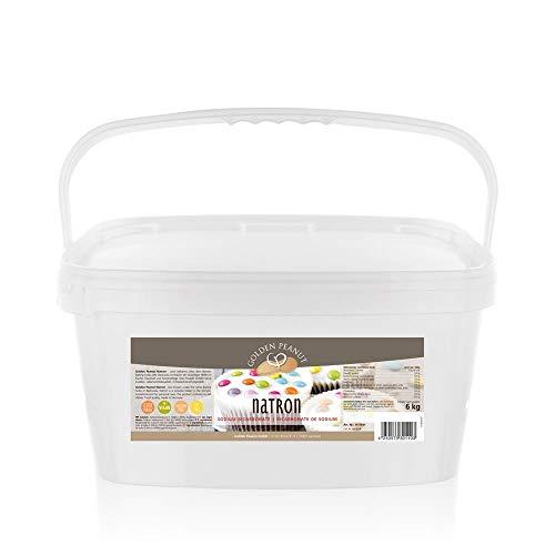 Natron 6kg Premium Qualität 99,3% Reinheit Lebensmittelqualität EU-Ware Natriumhydrogencarbonat Natriumbicarbonat Backsoda