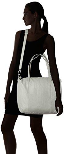 Liebeskind Berlin Kaethec7 Vintag - Shoppers y bolsos de hombro Mujer Gris (Elephant Grey)