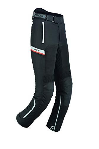 BOSmoto Sportliche Motorrad Hose Mit Protektoren, wasserdicht, Motorradhose mit Oberschenkeltaschen