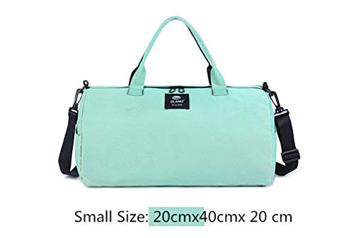 small Canvas Bag Sport green Yoga Gym Men Women's Travel Pack Bags HCcqv6AHw