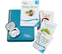 Weight Watchers COMPLETE Points Plus 2011 Members Deluxe KIT with Calculator, Pedometer, AND Measuring Spoons