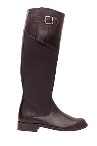 BOTOSVALVERDE Women's Boots Black DDzSe