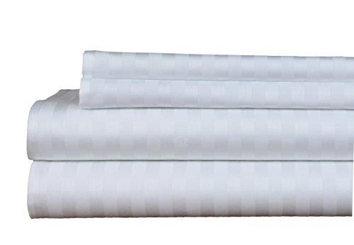 White Stripe Pillowcase Set - 8