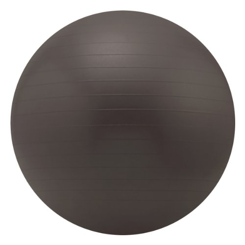 Sivan Health And Fitness Yoga Stability Ball and Pump, Black, 75cm