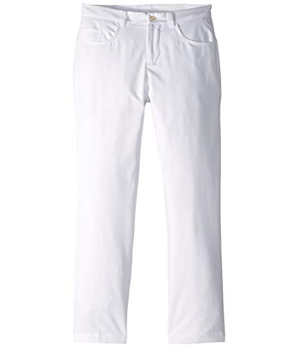 Puma Golf 2019 Boy's 5 Pocket Pant, BRIGHT WHITE, Medium