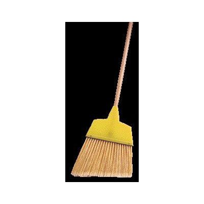 Large Angle Broom With 7 1/2'' - 5 3/4'' Flagged Plastic Fill