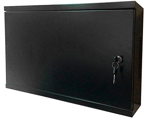Electriduct 2U Wall Mount Rack Enclosure - Solid Door