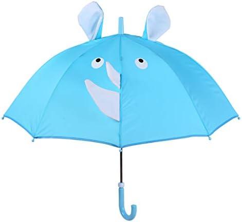 幼稚園の小学校の傘、長いハンドル、開閉が簡単、軽量、日焼け止めにすることができます、 A