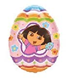 "Single Source Party Supplies - 27"" Dora The Explorer Easter Egg B185"