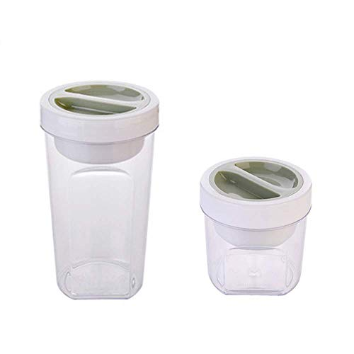 Stock Food Jug Plastic Kitchen Pot Seal Meal Slice Bean Rice Lager Snacks Box Small Container, Red (Color : Red, Size : -)