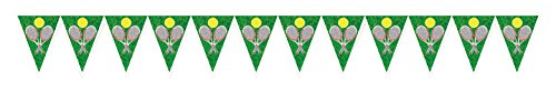 (Beistle Tennis Pennant Banner, 11