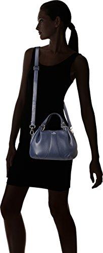 L THX1002 W Bleu Crépuscule Le H main Alice Sac cm 15x19x31 x Tanneur porté x wXw4q7O8gT