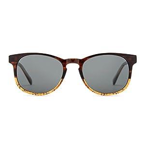 TIJN Two-tone Acetate Wayfarer Keyhole Frame Eyewear
