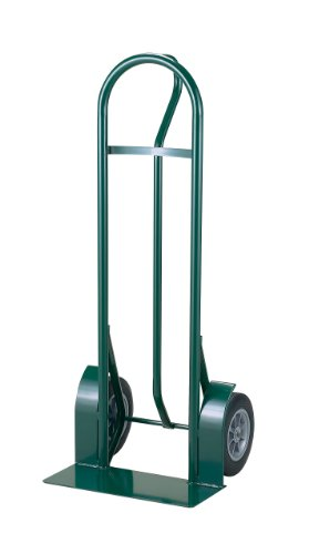 Harper Trucks 1000 lb Capacity Steel P-Handle Heavy-Duty Hand Truck with 10