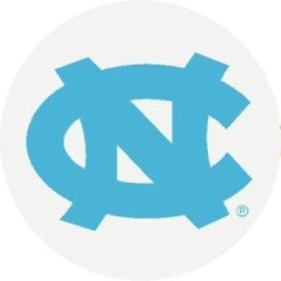 North Carolina Tar Heels Valve Stem Caps