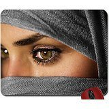 Price comparison product image women eyes people muslim islam hazel eyes scarf faces hijab 2544x1680 wallpaper mouse pad computer mousepad
