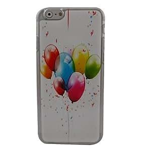 MOFY-Pl‡stico hermoso globo duro de la contraportada para el iphone 6