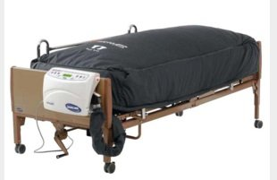 Invacare microAIR Lateral Alternating Pressure Mattress & Compressor - microAIR Mattress with Compressor 36 x 80 x 15 - (Invacare Compressor)