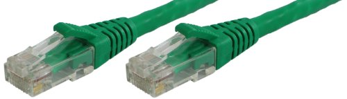 10 Green Cat5e - Lynn Electronics OLG10AGRN-010 Optilink CAT5E 10-Feet Patch Cord, Green, 3-Pack