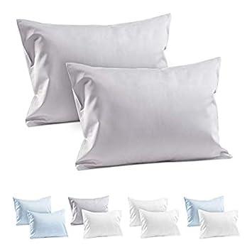 Amazon.com: 2 fundas de almohada de viaje para niños, 100 ...