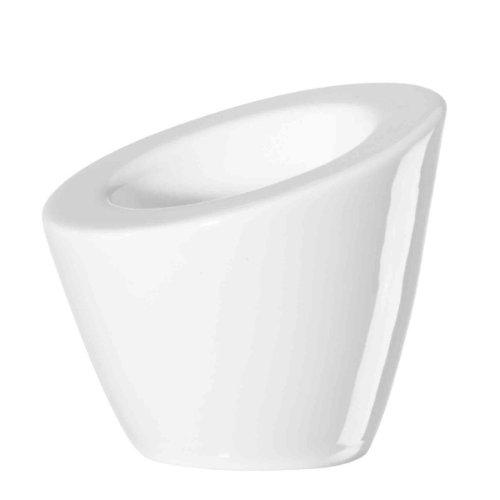 ASA 11770/017 Pollo 2-er Set Eierbecher 7 x 7 cm, weiß