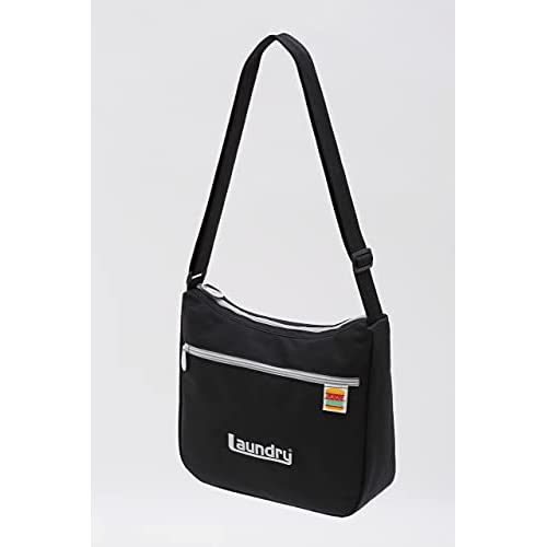 Laundry ROUND SHOULDER BAG BOOK BLACK 付録