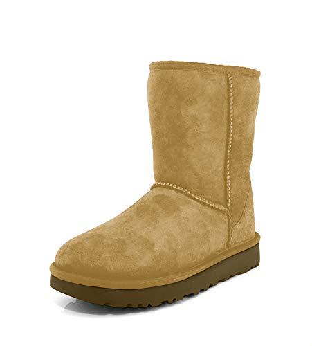 UGG Women's Classic Short II Winter Boot, Chestnut, 7 B US 5.5 UK (Womens Size 7 Shorts)