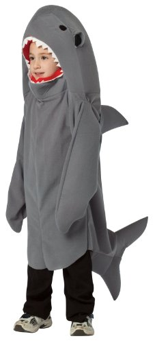 Shark Child Costume Size Small (Boy Shark Costume)