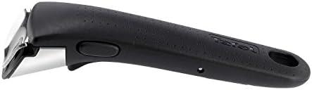 Tefal INGENIO ESSENTIAL Scottish Batterie de Cuisine 10 Pièces Poêles 20/22/26 cm + Casseroles 16/18 cm + Wok 26 cm + Couvercles hermétiques 16/18 cm + Spatule + PoignéeGris L2149602