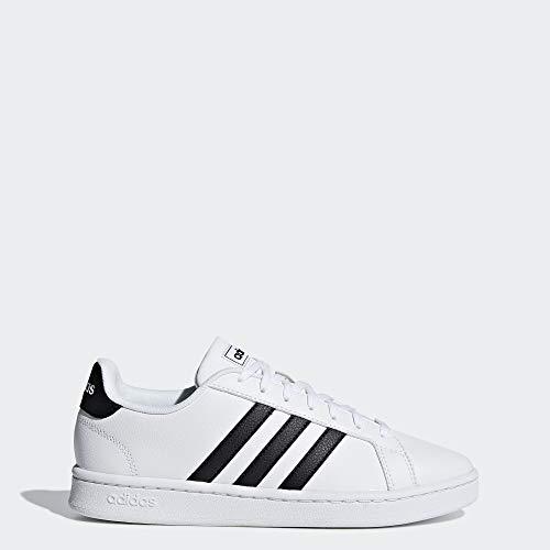 adidas Women's Grand Court, Black/White, 6 M US (Adidas A)