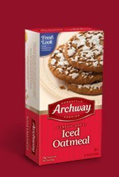Archway  Classic Soft Iced Oatmeal Cookies, 9.25 Ounce