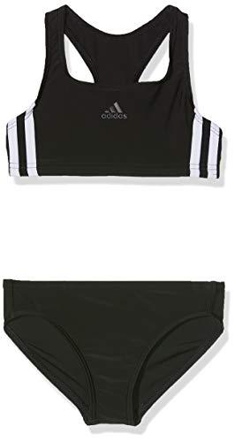 adidas Mädchen 3-Streifen Bikini-Set