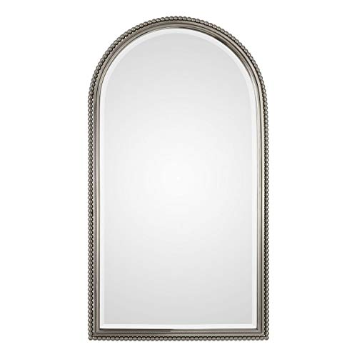 "Uttermost Sherise Brushed Nickel 22 1/2"" x 41"" Mirror"