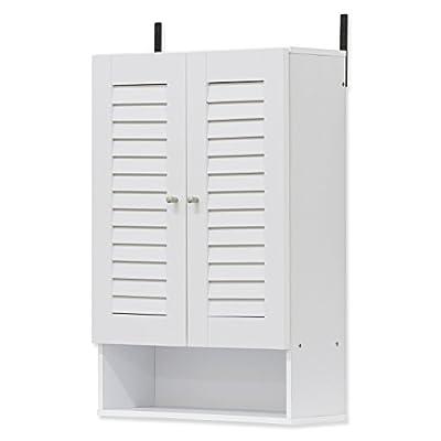 Furinno 16063EX Indo Double Door Wall Cabinet